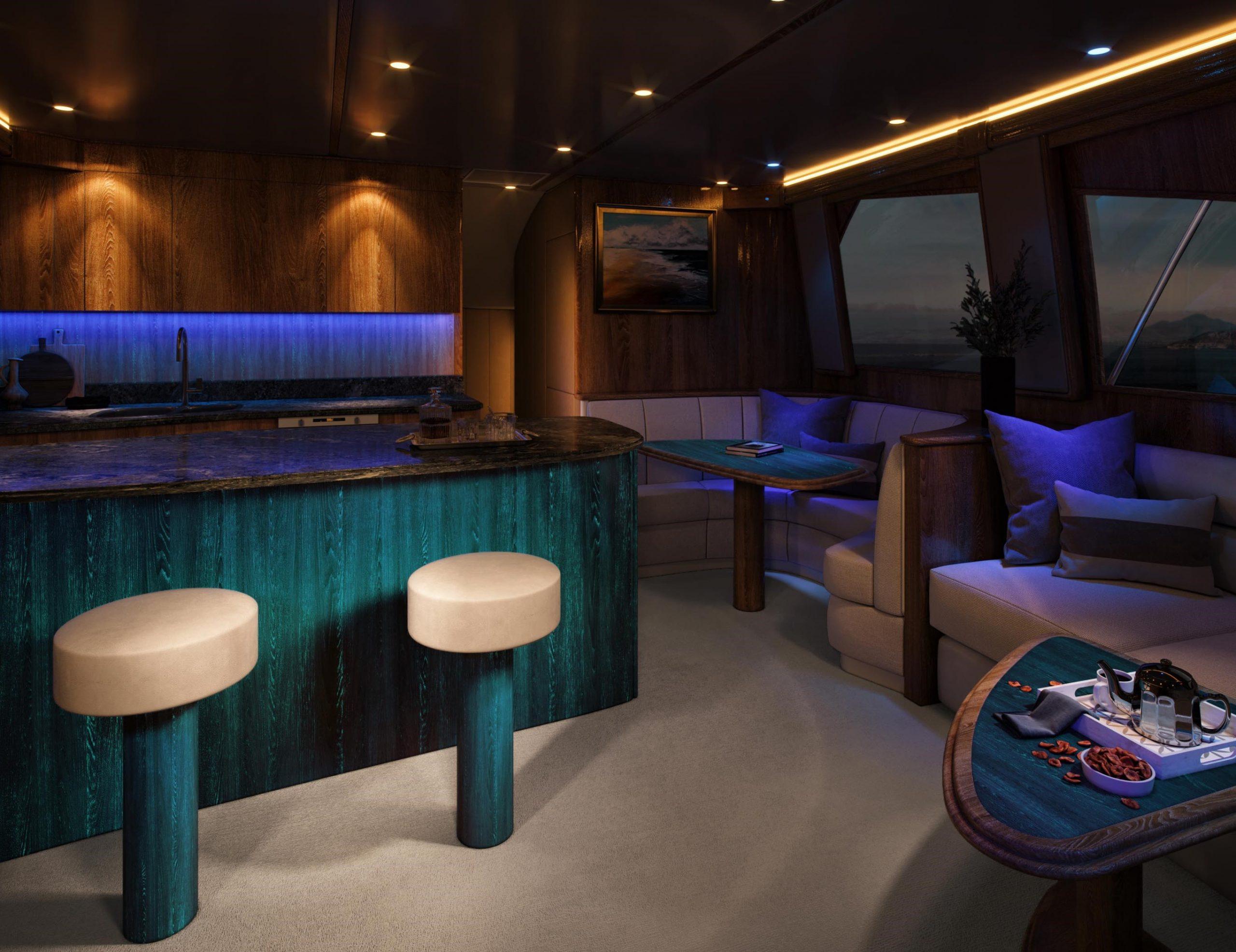 Glowood Timber Boat Night Flooring