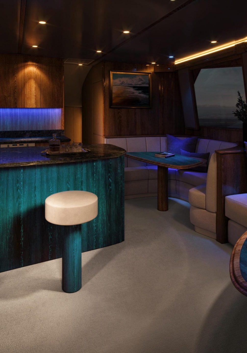 Glowood Timber Boat Night